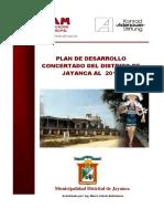 Plan_11431_plan de Desarrollo Concertado Del Distrito de Jayanca Al 2015_2011