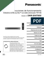 Panasonic Dmr Bwt850ec