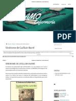 Síndrome de Guillain-Barré _ Yo Amo Enfermería