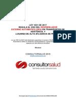 Ley 1831 de 2017 - Desfibrilador Externo Automatico Reglamentado en Colombia - Consultorsalud
