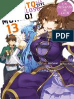 Kono Subarashii Sekai Ni Shukufuku Wo! Volumen 13