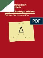 Rodrigo Alsina Miquel - La Construccion de La Noticia (209pag)