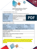 Activity Guide and Evaluation Rubric - Assignment 8 - Blog Debate