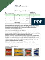 DEK PVC Rolling Up Door Quotation7.11