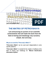 THE MATRIX OF PETROVSKAYA