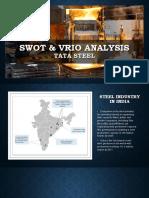 Swot & Vrio Tata Steel