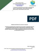 Terminos de Referencia Factibilidad Lote 41