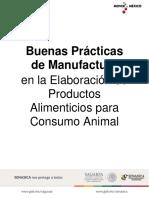 Manual de Buenas Practicas de Manufactura-Alimentos Consumo Animal 2018