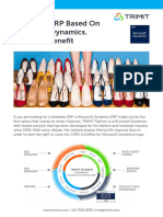 Footwear ERP - TRIMIT Fashion Based On Microsoft Dynamics NAV