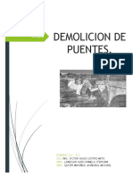 Demolicion de Puentes Grupo-2
