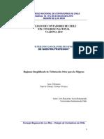 14 PYME Régimen Simplificado de Tributación 14ter Para La Mipyme- Area IV