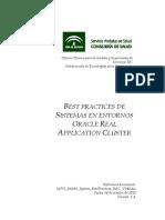 best practices Oracle RAC