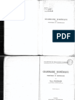 Pierre Chantraine, Grammaire Homerique I