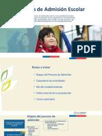 Capacitación SAE General, Sostenedores, Directores y Funcionarios