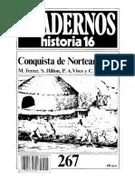 Cuadernos de Historia 16 - Nro. 267  - Conquista de Norteamérica(1).pdf
