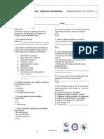 Encuesta Desersion Universitaria- Programa de Derecho Para Aplicar