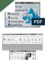 Diseño de Redes de Agua Domiciliarias-software Saraid