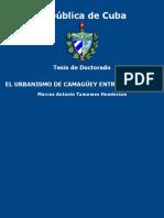 El Urbanismo de Camaguey Entre - Tamames Henderson, Marcos Anton