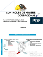 CONTROLES DE HIGIENE OCUPACIONAL