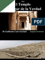 """El Templo de Deir el - Medinah """"El Lugar de la Verdad"""" - Antiguo Egipto"""
