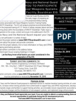 NWSTF Boardman EIS Notice of Intent Advertisement