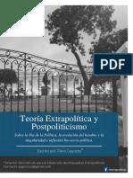 Teoría Extrapolítica y Postpoliticismo - Piero Gayozzo - IDPE