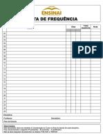 Lista de Frequencia Medio