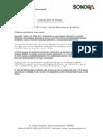 25/07/18 Ofrecerá CECyTE Sonora Taller de Reforzamiento Académico –C.071883