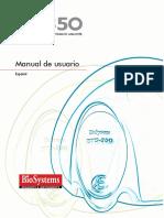 BTS-350 Manual de Usuario