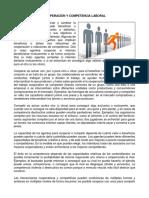 Cooperación y Competencia Laboral