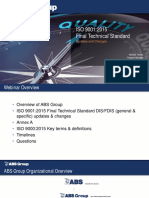 FDIS 9001 2015 Webinar Presentation ABS Group