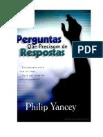 Perguntas Que Precisam de Respostas - Philip Yancey