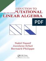 Erhel, Jocelyne_ Nassif, Nabil_ Philippe, Bernard - Introduction to Computational Linear Algebra (2016, Chapman & Hall_CRC)