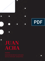 Juan Acha. Despertar Revolucionario