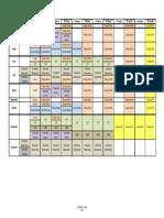 Ejemplo de Calendario Anual de Evaluaciones Externas