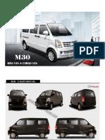 E Brochue M30 Minivan