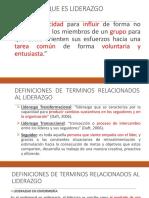 1.- Generalidades Del Liderazgo