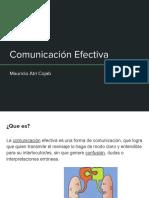 Comunicacion Efectiva- Mauricio Atri Cojab