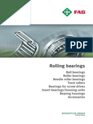 FAG 6303 2RSR C3 Deep Groove Ball Bearing INA, Schaeffler Single Row Radial