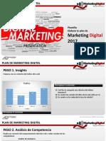Plan Propuesta Marketing Digital 2017