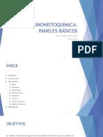 inmunohistoquimica - paneles basicos