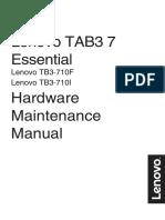 Lenovo Tab3 7 Essential Hmm en v1.0 201601