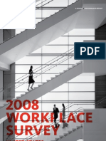2008 Gensler Workplace Survey US 09-30-2009