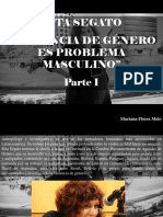 Mariana Flores Melo - Rita Segato, Violencia de Género Es Problema Masculino, Parte I