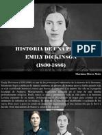 Mariana Flores Melo - Historia de Una Pasión, Emily Dickinson (1830 - 1886)