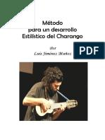Método Del Charango de Luis Jiménez