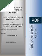Metodo Sublevel Stoping (1) Collado