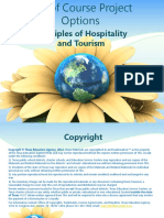 PPT End of Course Project Options Principles of Hospitality and Tourism