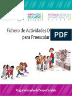 Fichero Preescolar 2017