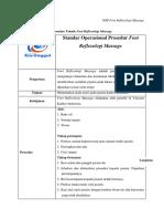 SOP Foot Reflexologi Massage